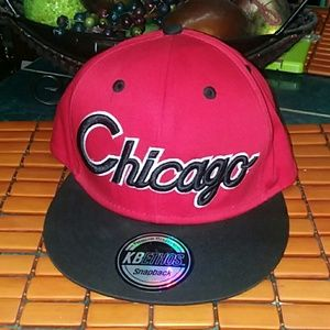 Chicago Accessories - Mens Chicago Snapback Hat